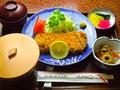 料理メニュー写真ロースカツ定食
