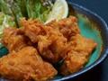 料理メニュー写真もも肉唐揚げ(5個)