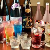 天神で飲むならごちや!種類豊富に取り揃えております!