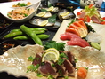 旬の魚や野菜を使用した料理が自慢です。