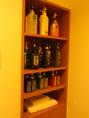 清潔なバスタオル・タオルの無料貸出。シャンプーの種類も豊富でお好みのシャンプを使用して下さい。