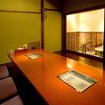 2名様から8名様までのお座敷タイプの完全個室です。カジュアル接待や企業宴会はもちろんのこと、女子会、合コンにも最適です。お客様にご満足頂ける様に料理や空間にもこだわりました。