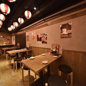水炊き 焼鳥 とりいちず酒場 六本木店の雰囲気2