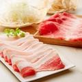 料理メニュー写真■本日の銘柄豚 2種盛合わせ■定量コース(200g) 2862円