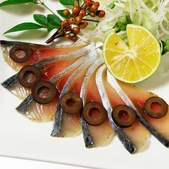料理メニュー写真サバの生ハム