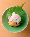 料理メニュー写真白身魚のウニ正油和え