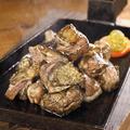 料理メニュー写真黒さつま鶏 地鶏炭火焼