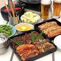 料理メニュー写真【土日祝ランチ限定】青空焼肉食べ放題プラン〈開放的なお昼ご飯〉