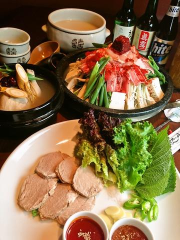 桂駅東口から徒歩1分以内!本場韓国料理を味わえるコリアンダイナーぱんちゃん家。