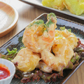 料理メニュー写真海老の特製味噌マヨ和え