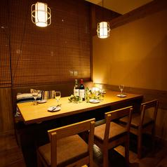 宴会にオススメの個室を少人数のお席から大人数のお席までラインナップを豊富にご用意しております!プライベート空間でごゆっくりご宴会をお楽しみください。