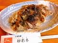 料理メニュー写真地鶏の山椒焼