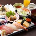 お魚を使ったお寿司・天ぷらなど自信の一品です!是非一度ご賞味ください!