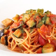 料理メニュー写真トマトと彩り野菜のパスタ~大葉の香り~