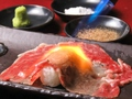 料理メニュー写真黒毛和牛 大ネタ肉寿司