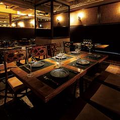 5~6名様のテーブル席