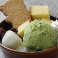 料理メニュー写真抹茶パフェ/ほうじ茶パフェ/アイス大好き!!
