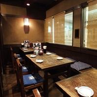 [麹町駅直結]テーブル席やお座敷など様々なお席をご用意