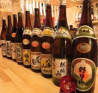 新潟地酒が種類豊富!!