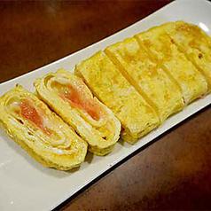 料理メニュー写真明太子チーズ玉子焼