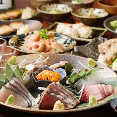オサカナヤ 魚魚権 ジユウガオカのコース写真