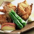 ≪とらふぐの唐揚げ≫サックサクの食感がたまらない唐揚げ◎新鮮なフグは揚げてもぷりぷり♪【1680円(税抜)】