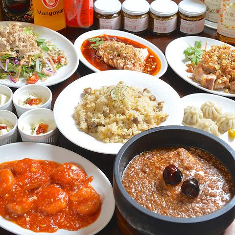 宴会・飲み会に強い中華料理店 ご宴会コース・飲み放題各種充実しています