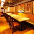 [テーブル個室]会社宴会にもぴったり18名個室!ゆったり宴会個室をご用意します。【柏/居酒屋/個室/飲み放題/女子会/誕生日】