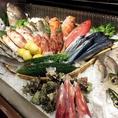新鮮なお魚はその日の内にお店へ…生簀などで新鮮な状態をキープ!これも新鮮なお魚を皆様に愉しんでいただくため★