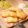 料理メニュー写真自家製タルタルのフィッシュフリット Tartar Sauce Fish Fritters