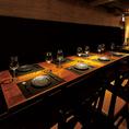 7~8名様のテーブル席