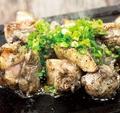料理メニュー写真匠大山鶏の黒焼き