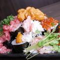 料理メニュー写真豪快!!こぼれ寿司