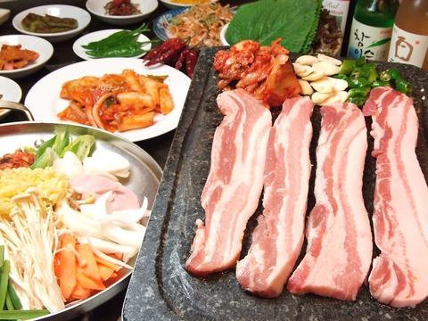 火・日曜は韓国家庭料理が10%OFF★ 韓国デビューにオススメ♪