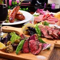 厳選されたお肉を大胆に焼き上げる厚切りステーキ