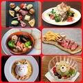 料理メニュー写真人気料理尽くしコース、料理のみ3300円サプライズ無料