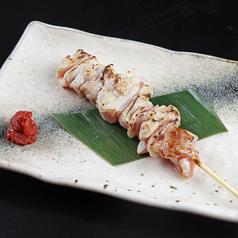 料理メニュー写真比内地鶏串(1本)
