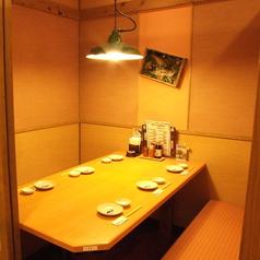 仕切られた個室!周りをきにせずゆったり♪※写真は系列店です。