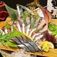 新鮮なお魚は活き造りを始め、様々な調理法で皆様にお届け致します!