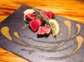 料理メニュー写真牛のココロステーキ~レモンバターソース~