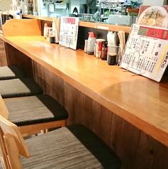 【お一人様から♪】気軽に焼肉・冷麺を愉しんでいただきたい・・!!そんな想いからカウンター席をご用意しました。