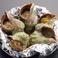 料理メニュー写真つぶ貝のにんにくバター焼き