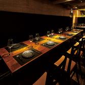 9~10名様のテーブル席