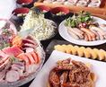 【各種コース】各種コース料理は飲み放題がついて2800円~で楽しめる!