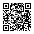 外国語メニューのQRコード。スキャンして頂くと閲覧可能になります。