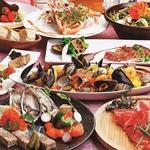 イタリアン、スペイン、地中海料理など様々な料理をお手頃価格ご堪能♪