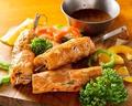 料理メニュー写真シシカバブ(鶏ひき肉)1本