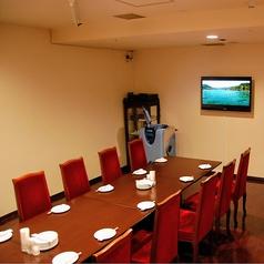 最大20名様までOKの個室。お昼のミーティングプランや夜のカラオケプランもございます♪