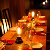 ガラス張りの店内と木を基調としたインテリアが大人気!当店自慢のお肉とチーズとワインをお楽しみください!シェフがその日に見極めた素材常時ご準備させていただいております♪
