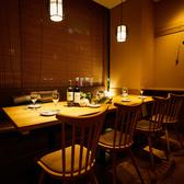 テーブル席の個室はお勤め先での飲み会や宴会はもちろん女子会・誕生日会等にもオススメ◎プライベート空間で周りを気にせずごゆっくりお過ごしください!